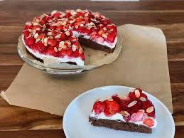 erdbeer schoko kuchen mit pudding rezept reise