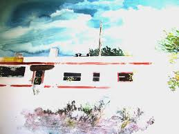 The Shed Edom Tx by Watercolor Recollections 54 The Art Of David Tripp Page 39