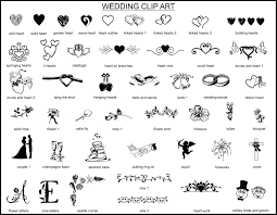 Wedding Guests Clipart