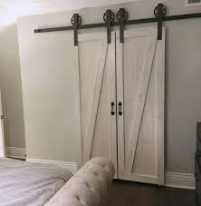 Double Door Vintage Barn Door Hardware Kit (more Colors Available ... Closet Door Tracks Systems July 2017 Asusparapc Best 25 Reclaimed Doors Ideas On Pinterest Laundry Room The Country Vintage Barn Features A Lightly Distressed Finish Home Accents 80 Sliding Console 145132 Abide Fniture Find Out Doors Melbourne Saudireiki Articles With Antique Uk Tag Images Minimalist Horse Shoe Track Full Arrow T Shaped Hdware Set An Old Wooden Rustic Vintage Barn Door Stock Photo Royalty Free Custom Sliding Windows Price Is For