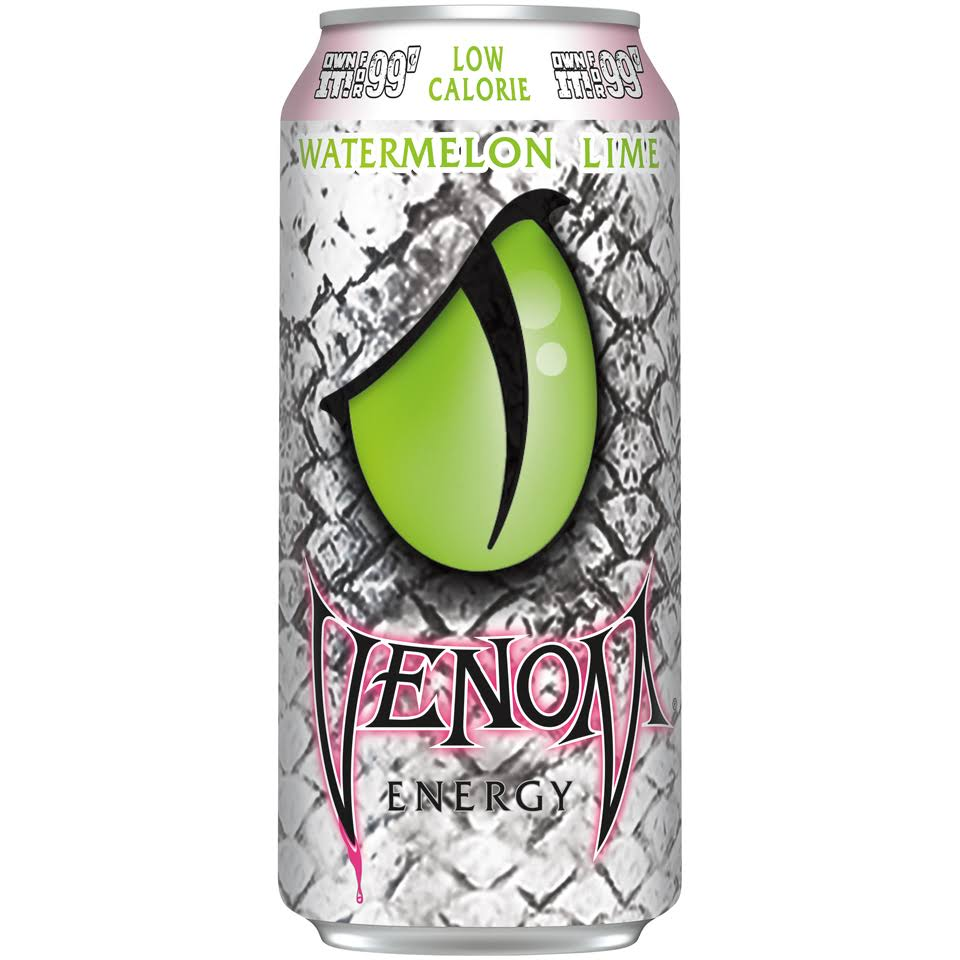 Venom Watermelon Lime Energy Drink - 16 fl oz