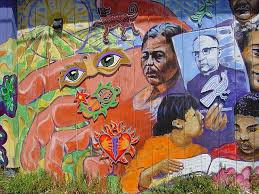 Balmy Alley Murals Mission District by Beauty On The Bricks Precita Eyes Creates Murals And Artists