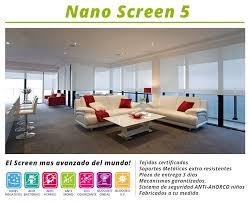 Nuevo tejido técnico Nano screen 5 tejidos 100% certificados para