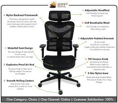 Green Soul New York Pro Mesh Office Chair – Green Soul Ergonomics High Quality Executive Back Office Chair With Double Padding Quality Mesh Computer Chair Lacework Office Lying And Tate Black Wilko Computer New Arrival Adjustable Hulk Home Fniture On Gaming Midback Racing For Swivel Desk Costway Recling Pu Moes Omega The Classy 2 Mesh Chairs In Rh11 Crawley 5000 4 Herman Miller Alternatives That Are Also Cheap Tyocho3 Ergonomic Plastic Buy