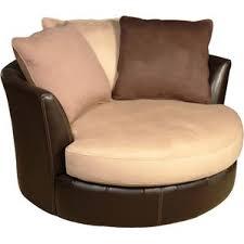 Decoro Leather Sofa With Hardwood Frame by Swivel Chairs You U0027ll Love Wayfair
