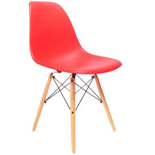 Eames DSW Chair Red - Charles & Ray Eames Chairs Charles And Ray Eames Chair Vitra Plastic Armchair Daw With Full Upholstery Side Dsw By 1950 Style Dowel And Chairs 115 For Sale At 1stdibs Lounge Ottoman Herman Miller Eiffel Inspired Ding Retro Design Dsr Viaduct