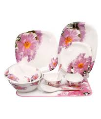 Hape Kitchen Set India by Rich Craft White Dinner Set Buy Online At Best Price In India
