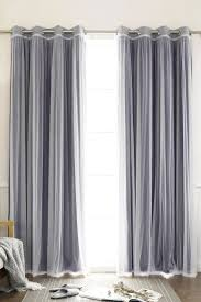 Sears Canada Sheer Curtains by Sheer Curtain In The Front And Blackout Drapery Behind Them Great
