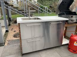 diy outdoorküche ikea hack rut morawetz
