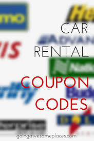 Save Money On Car Rentals - Car Rental Coupon Codes | Tips ...