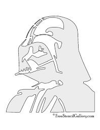New Stormtrooper Pumpkin Stencil by Darth Vader Stencil Free Stencil Gallery