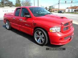 100 Dodge Truck With Viper Engine 2005 Ram Srt 10 Motor Lots Of Mods Only 72k