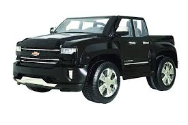 100 Chevy Trucks For Sale In Indiana Amazoncom Rollplay W461P 12V Silverado Truck Ride On Toy