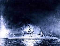 Uss America Sinking Location by The U0027nightmare U0027 Night Uss Houston Went Down