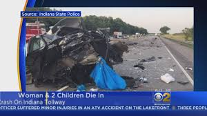 Woman And Two Children Killed In Wrong-Way Crash On Indiana Toll ... Beer Truck Spills Part Of Load On I65 After Rollover Accident Tractor Trailer Accident Kills Driver News The Leader Corning Ny Indianapolis Attorneys Smart2mediate Man Killed In Fiery Semi Crash On Indiana Tollway Idd Abc7chicagocom In Lawyers Dennis Caslin Killed Three Others Wounded At A Injured Wreck State Road 135 Kokomo Man Early Morning Kotribunecom Says Sneezing Fit While Talking To Siri Led Rollover Inrstate 84 Auto Workers Marvel As Truck They Built Driver Receives New For Accidentfree Record