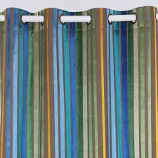 Green Striped Curtain Panels by Online Get Cheap Multi Stripe Curtains Aliexpress Com Alibaba Group