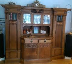 antiker wohnzimmerschrank eiche massiv ebay