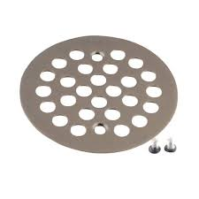 Bathtub Drain Strainer Cover by 4 1 4 In Tub And Shower Drain Cover For 2 5 8 In Opening In