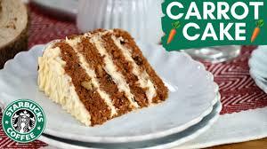carrot cake wie bei starbucks selber machen rüblikuchen mit cheese frosting rezept