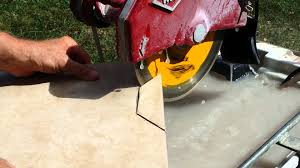 Skil Wet Tile Saw 3550 by How To Make Precision Cuts On Tile With A Wet Saw Youtube