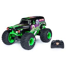 100 Monster Jam Toy Truck Videos Spin Master Official Grave Digger Remote