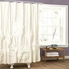 No Drill Window Curtain Rod by Shower Curtains Bowed Shower Curtain Rod Bathroom Decorating