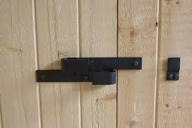 Stunning Barn Door Locking Hardware Lock For Sliding Barn Door