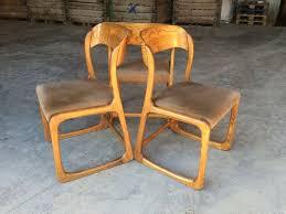 chaise traineau baumann suite de 3 chaises traîneau baumann vintage par excellence on