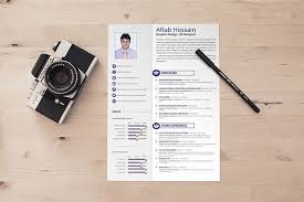 Free 2 Page Resume Template 21575779 Graphic Design Best Practices And 51 Examples