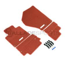 Scion Frs Red Floor Mats by Ballade Sports
