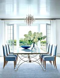 Plain Ideas Blue Dining Room Table Pink Chairs Set Contemporary