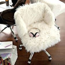 Fluffy White Chair Bean Bag
