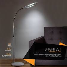 Bright Floor Lamp For Reading by Amazon Com Brightech Lightview Pro Led Magnifying Floor Lamp