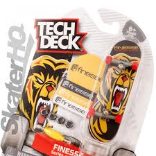 Tech Deck Finger Skateboard Tricks by Tech Deck Finesse Bear Series 4 Skater Hq
