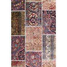 tapis iranien fait tapis patchwork iranien kilim ada patchwork and house
