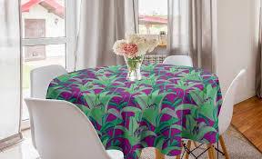 abakuhaus tischdecke kreis tischdecke abdeckung für esszimmer küche dekoration blumen up hawaiian pflanzen kaufen otto