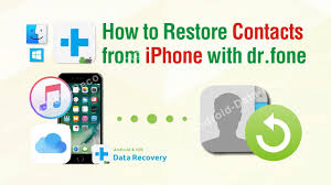 Restore Deleted Contacts How to Restore Contacts from iPhone