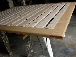 simple platform bed frame plans pdf download how to build your own