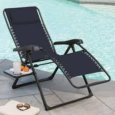 members mark xl sunbrella reclining chair indigo sam s club