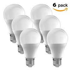 led bulbs pack of 6 a19 e27 7w brightest 60w incandescent bulbs