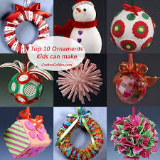 Really Cute Collection Of Christmas Ornament Tutorials For Easy Crafts The Kids Can Make