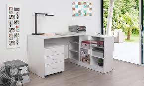 bureau avec tiroir bureau caisson étagère tiroirs groupon