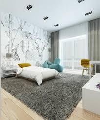 wohnung farbideen modern schlafzimmer einrichtung weiss grau