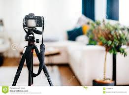 100 Interior Design Photographs Camera On Tripod Taking Of Furniture