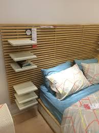 Ikea Mandal Headboard Diy by Ikea Mandal Headboard And Adjustable Shelves Tables Etc
