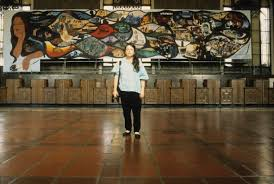 David Alfaro Siqueiros Mural Olvera Street by California Historical Society March 2017