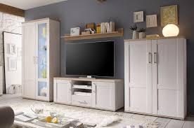 wohnwand anbwauwand wohnzimmer set wohnkombination weiß günstig möbel küchen büromöbel kaufen froschkönig24
