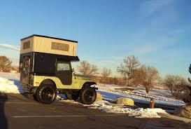 1974 Cj5 Popup Camper Wyoming2