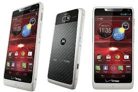 Motorola Droid RAZR M 8GB 4G LTE Android WHITE Phone Verizon