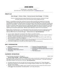 Sales Manager Resume Examples Australia With National Cover Letter Example Free Template